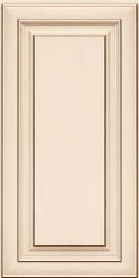 Square Raised Panel - Solid (RTM) Maple in Canvas w/Cocoa Glaze - Wall