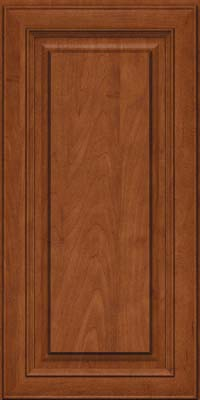 Square Raised Panel - Solid (RTM) Maple in Chestnut - Wall