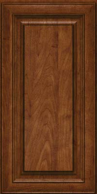 Square Raised Panel - Solid (RTM) Maple in Cognac - Wall