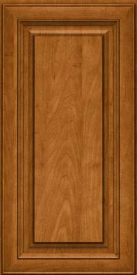 Square Raised Panel - Solid (RTM) Maple in Golden Lager - Wall