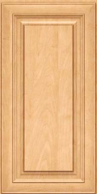 Square Raised Panel - Solid (RTM) Maple in Honey Spice - Wall
