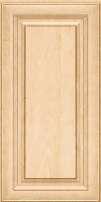 Square Raised Panel - Solid (RTM) Maple in Natural - Wall