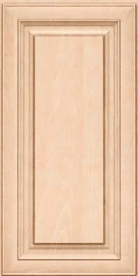 Square Raised Panel - Solid (RTM) Maple in Parchment - Wall