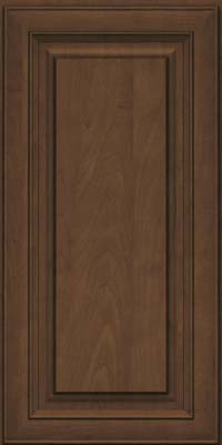 Square Raised Panel - Solid (RTM) Maple in Saddle Suede - Wall