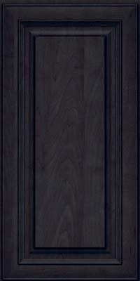 Square Raised Panel - Solid (RTM) Maple in Slate - Wall