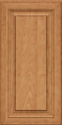 Square Raised Panel - Solid (RTM) Maple in Toffee - Wall