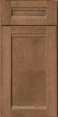 Square Recessed Panel - Veneer (AC8B) Birch in Husk - Base