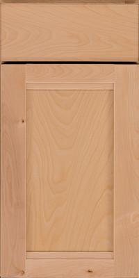 Square Recessed Panel - Veneer (AC8B) Birch in Natural - Base
