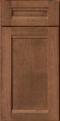 Square Recessed Panel - Veneer (AC8B) Birch in Rye - Base