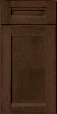 Square Recessed Panel - Veneer (AC8B) Birch in Saddle - Base
