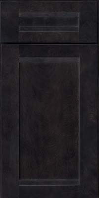 Square Recessed Panel - Veneer (AC8B) Birch in Slate - Base
