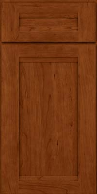 Square Recessed Panel - Veneer (SNC) Cherry in Cinnamon - Base