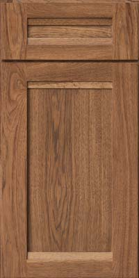 Square Recessed Panel - Veneer (AC8H) Hickory in Rye - Base