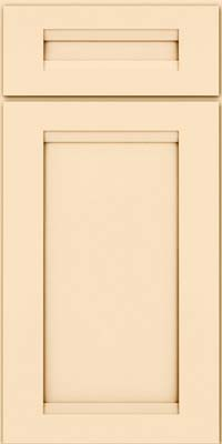 Square Recessed Panel - Veneer (SNM) Maple in Biscotti w/Cocoa Glaze - Base
