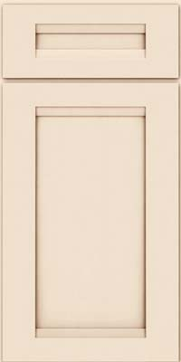 Square Recessed Panel - Veneer (SNM) Maple in Canvas w/Cocoa Glaze - Base