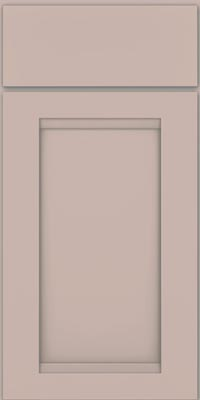 Square Recessed Panel - Veneer (SNM1) Maple in Chai w/Cinder Glaze - Base