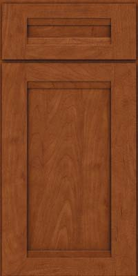 Square Recessed Panel - Veneer (SNM) Maple in Chestnut - Base