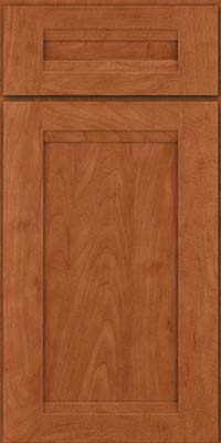 Square Recessed Panel - Veneer (SNM) Maple in Cinnamon - Base