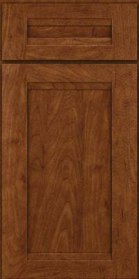 Square Recessed Panel - Veneer (SNM) Maple in Cognac - Base