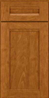 Square Recessed Panel - Veneer (SNM) Maple in Golden Lager - Base