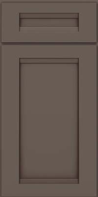 Square Recessed Panel - Veneer (SNM) Maple in Greyloft w/ Sable Glaze - Base