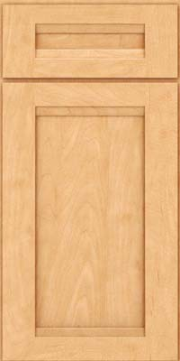 Square Recessed Panel - Veneer (SNM) Maple in Honey Spice - Base