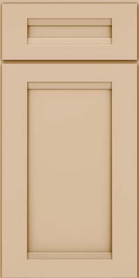 Square Recessed Panel - Veneer (SNM) Maple in Mushroom - Base