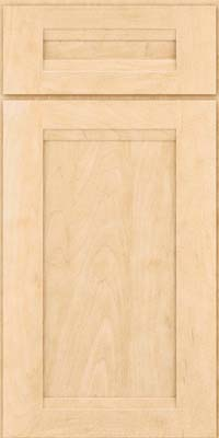 Square Recessed Panel - Veneer (SNM) Maple in Natural - Base