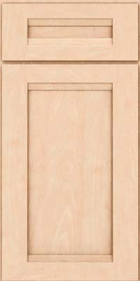 Square Recessed Panel - Veneer (SNM) Maple in Parchment - Base