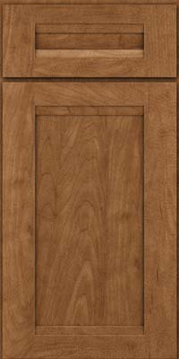 Square Recessed Panel - Veneer (SNM) Maple in Rye - Base