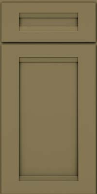 Square Recessed Panel - Veneer (SNM) Maple in Sage - Base