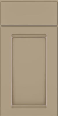 Square Recessed Panel - Veneer (SNM1) Maple in Willow w/Coconut Glaze - Base
