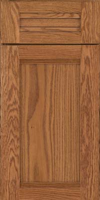Square Recessed Panel - Veneer (AC8O) Oak in Fawn - Base