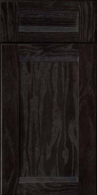 Square Recessed Panel - Veneer (AC8O) Oak in Slate - Base