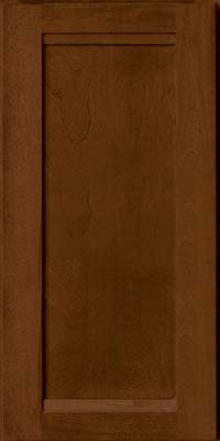 Square Recessed Panel - Veneer (AC8B) Birch in Cognac - Wall