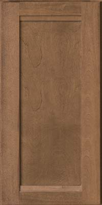 Square Recessed Panel - Veneer (AC8B) Birch in Husk - Wall