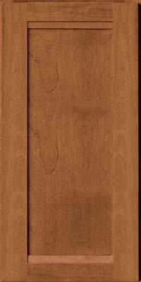 Square Recessed Panel - Veneer (AC8B) Birch in Praline - Wall