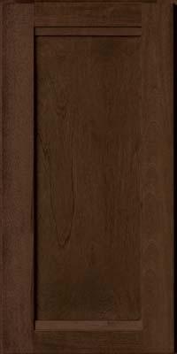 Square Recessed Panel - Veneer (AC8B) Birch in Saddle - Wall