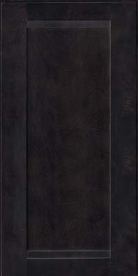 Square Recessed Panel - Veneer (AC8B) Birch in Slate - Wall