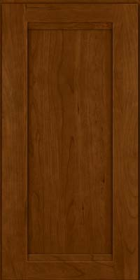 Square Recessed Panel - Veneer (SNC) Cherry in Chocolate - Wall