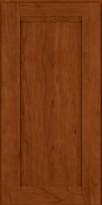 Square Recessed Panel - Veneer (SNC) Cherry in Cinnamon - Wall
