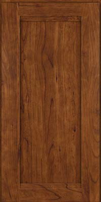 Square Recessed Panel - Veneer (SNC) Cherry in Cognac - Wall