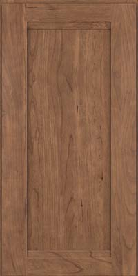 Square Recessed Panel - Veneer (SNC) Cherry in Husk - Wall