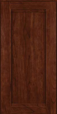 Square Recessed Panel - Veneer (SNC) Cherry in Kaffe - Wall