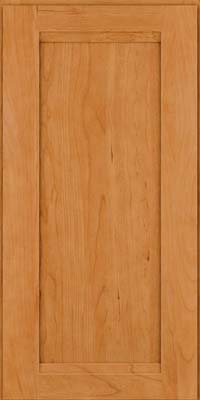Square Recessed Panel - Veneer (SNC) Cherry in Natural - Wall