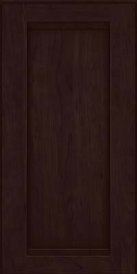Square Recessed Panel - Veneer (SNC) Cherry in Peppercorn - Wall