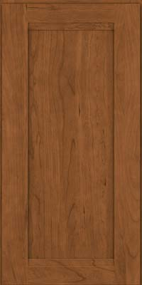 Square Recessed Panel - Veneer (SNC) Cherry in Rye - Wall