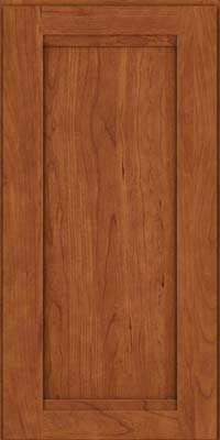 Square Recessed Panel - Veneer (SNC) Cherry in Sunset - Wall