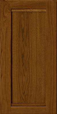 Square Recessed Panel - Veneer (AC8H) Hickory in Cognac - Wall