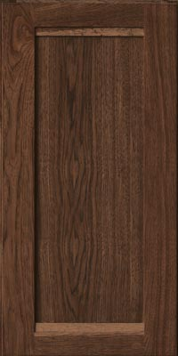 Square Recessed Panel - Veneer (AC8H1) Hickory in Hazel - Wall
